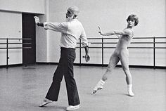 To most New Yorkers, Jerome Robbins is That Guy Who Did West Side Story. But to a generation of dancers at NewYork City Ballet—and a few odd stars like Mikhail Baryshnikov—he was much more: a meticulous, tireless worker; a genius choreographer [. Male Ballet Dancers, Ballet Boys, Shall We Dance, Lets Dance, Praise Dance, Jazz Dance, West Side Story, American Ballet Theater, Jerome Robbins