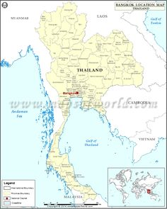 Where is Bangkok