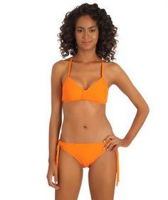 I love the 'Next Good Karma Underwire Bikini and Orange Swimwear Bottom'. Shop SwimSpot.com