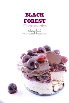 Raw Vegan Black Forest Cheesecake