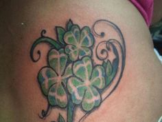 celtic four leaf clover tattoo meaning - Four Leave Clover Tattoos ...