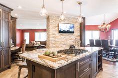 Rustic Kitchen by Custom Kitchens, Custom Cabinetry, Design Consultant, Rustic Kitchen, Granite Countertops, Kitchen Design, Custom Design, Woodworking, Interior Design
