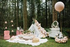 Fairy magic at our beautiful fairy tea party 💕 Vision, planning and styling Shoot production and balloon styling… Bohemian Birthday Party, Fairy Birthday Party, Girl Birthday, Fairy Tea Parties, Slumber Parties, 1st Birthday Themes, 1st Birthday Parties, Baby Party, Tea Party
