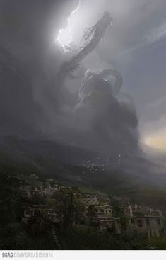 Shenlong rising. Omg love this!