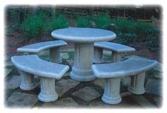 Granite Table Set/Natural Stone Table Set