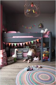 18 Clever Kids Room Storage Ideas