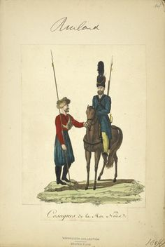 Black Sea Cossacks (NYPL > The Vinkhuijzen collection of military uniforms > Russia. > Russia, 1806 [part 2])
