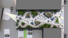 URBAN PARK DESIGN - CONCEPT Landscape Architects London