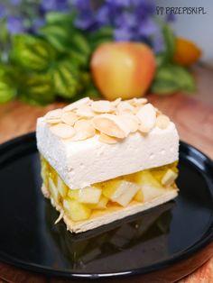 Jabłkowa Chmurka Bez Pieczenia Feta, Pie, Cheese, Bakken, Torte, Cake, Fruit Cakes, Pies, Cheeseburger Paradise Pie