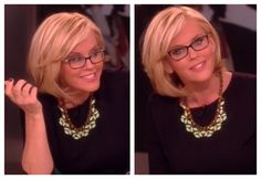 Jenny Mccarthy Framed Black Glasses