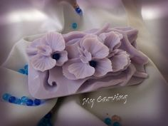 Orchid Carving soap, Thai Carving soap, hand carved bar soap, lilac orchid soap, Wedding carving soap, Lilac soap flower, Orchid soap flower by ABCarving on Etsy