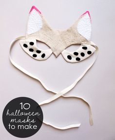 10 awesome DIY Halloween masks