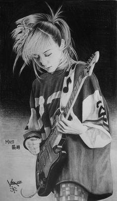 Bass, Scandal Japanese Band, Mami Sasazaki, Native American Girls, Women Of Rock, Guitar Girl, Female Guitarist, Music Artists, Rock Bands