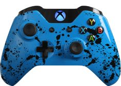 The Custom Controller Creator allows you to create the custom Xbox One & controllers of your dreams. Modify the exterior options to match your favorite sports team, your favorite video game character or your personal style. Custom Xbox One Controller, Xbox Controller, Geek Games, All Games, Consoles, Gamer Tags, Playstation, Ps4, Gaming Setup