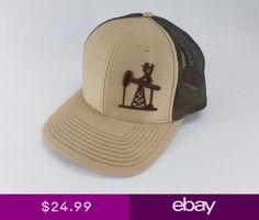 a3669e4baf3 3D OIL FIELD LIFE HAT CAP SNAPBACK CURVED BILL Trucker Hat RICHARDSON 112