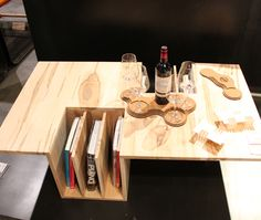 Unique coffee table by Toronto designer Endri Hoxha of ehoeho. At #IDS13 | photo Chloe Berge
