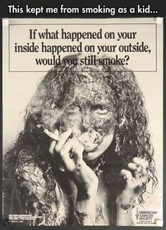 Anti-smoking ad done well // funny pictures - funny photos - funny images - funny pics - funny quotes - #lol #humor #funnypictures