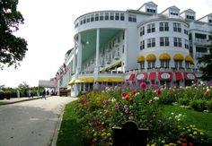 The beautiful & Majestic Grand Hotel, Mackinaw Island Michigan