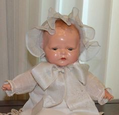 "Rare 16"" Madame Hendren ""Lullaby Baby"" Doll"