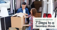 Real Estate Relocation Guide: 7 Steps to a Seamless MoveWhatever your reasons are for relocating to a new area, the proc Moving Costs, Moving Tips, Home Buying Tips, Us Real Estate, Severe Weather, Investment Property, New Job, Real Estate Marketing, The Neighbourhood