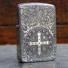 Regular 1941 Vintage Sterling Silver Constantine Zippo Lighter
