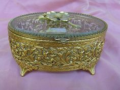 Ornate Jewelry Box. So pretty.