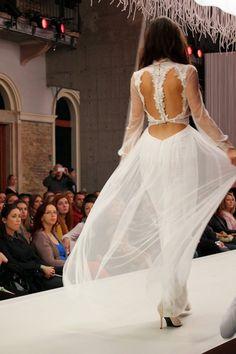 The Ariadne silk tulle dress / Nora Sarman Bridal / Marie Claire Fashion Days