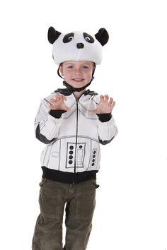 Panda Helmet Cover