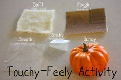 Toddler Time: Touchy-Feely Activity - I Can Teach My Child!