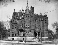 Hon. George Drummond's house, Sherbrooke Street, Montreal, QC, 1891.