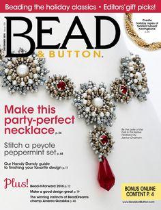 Bead and Button Magazine Dec2015 by BeadworkBrasil
