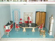 princess fantasy petite furniture display ideal dining room 1964