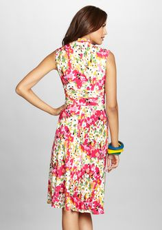 MADISON LEIGH Floral A-Line Dress