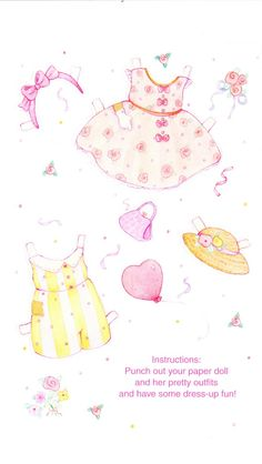 (⑅ ॣ•͈ᴗ•͈ ॣ)                                                            ✄The Paper Collector: A Valentine Paper Doll