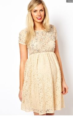 ASOS Maternity Dress   Cute For Baby Shower