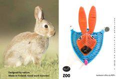Scandinavian fauna: bunny Kangaroo, Hooks, Scandinavian, Bunny, Mini, Animals, Baby Bjorn, Animales, Animaux