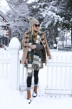 WOODSTOCK, VERMONT // BARBOUR PLAID & DUCK BOOTS