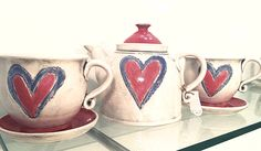 Ceramic set..made with love