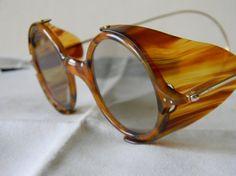 b488791c269 True Vintage rare Tortoise shell effect sunglasses