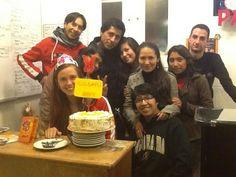Abbie birthday Ecuador