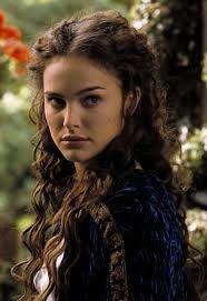 party hairstyles for medium length hair : Natalie Portman as Padme Amidala Naberrie Skywalker in Star Wars