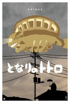 Catbus by John Cheng (My Neighbor Totoro - Hayao Miyazaki - Studio Ghibli) Studio Ghibli Art, Studio Ghibli Movies, Hayao Miyazaki, Cat Bus Totoro, Cats Bus, Picture Blog, Castle In The Sky, Howls Moving Castle, My Neighbor Totoro