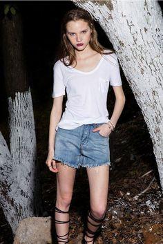White Loose & Sheer Cotton Shirt