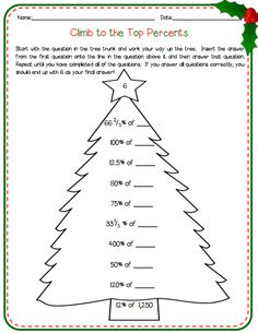 Printables Percent Worksheets Grade 7 percent of change with mms mathe math klasse unterricht in unterrichtsideen 7 weihnachten math