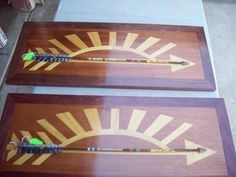 Cub Scout Arrow of Light - Incredible wood inlay!