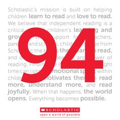 Happy 94th anniversary to us! On October 20, 1920, M.R. Robinson published the first issue of The Western Pennsylvania Scholastic, a 4-page magazine for classrooms that covered high school sports and social activities. That day also marked the beginning of Scholastic Inc., although it would be another six years before the company published its first book! #scholastic94