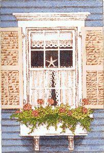 Cape Cod Window I  John Furches
