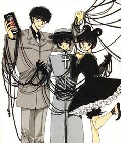 Tokyo Babylon ~another CLAMP favorite.