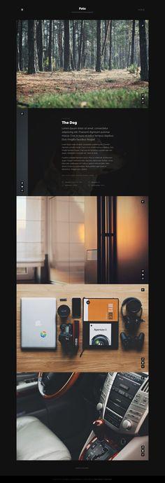 Foto theme preview by Pawel Kadysz