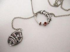 collana con ciondoli in argento di Loreart - Creare gioielli è un'arte su DaWanda.com